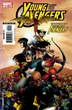 Young Avengers (1st Series) (2005) 12